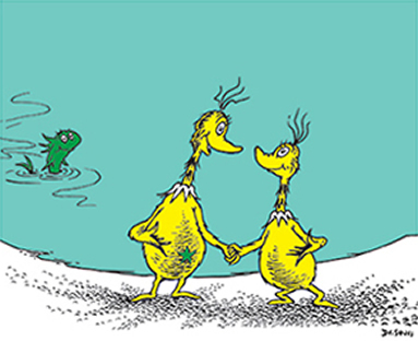 I think about the Sneetches a lot...
